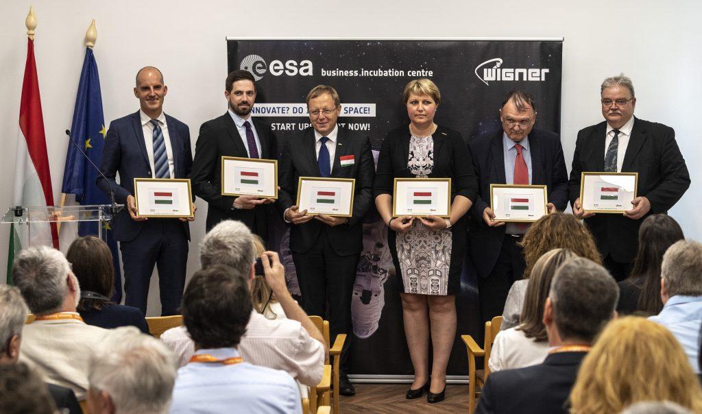 Startup-Zentrum der Europäischen Weltraumorganisation in Budapest eröffnet!