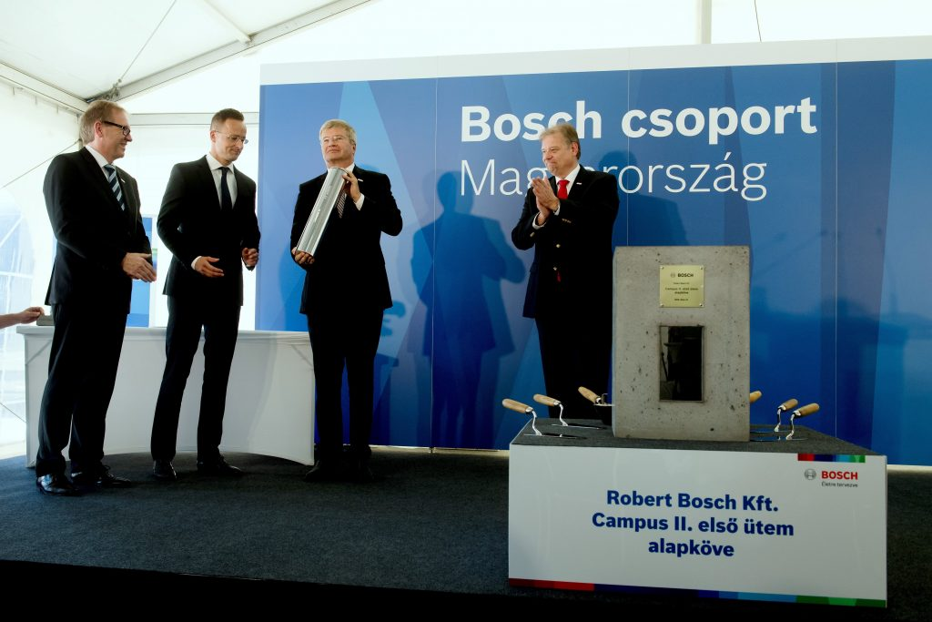 37 Mrd. Forint, 90.000 qm neuer Bosch-Campus post's picture