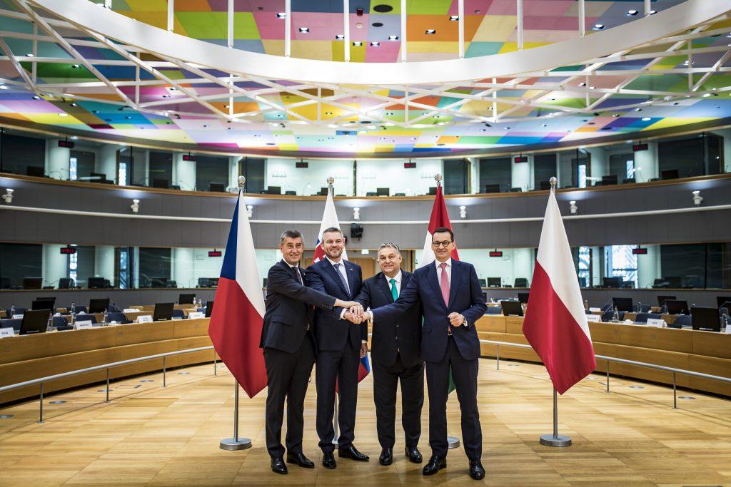 Justizministerin feiert 30-jähriges Bestehen der Visegrád Gruppe