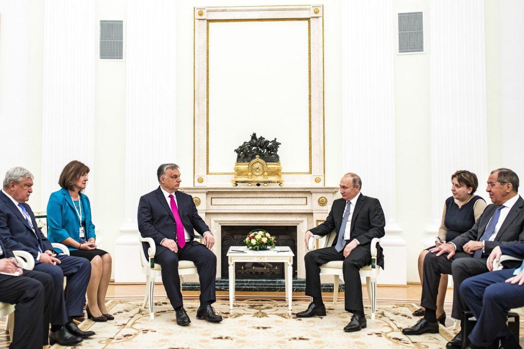 Kritik der EU-Sanktionen gegen Russland? Orbán-Putin Treffen in Moskau post's picture