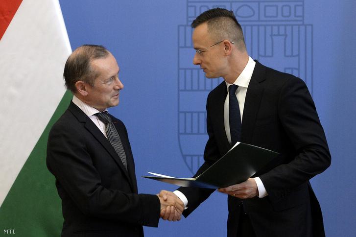 Verdienstkreuz für den französischen Botschafter, der sich für Ungarn engagierte