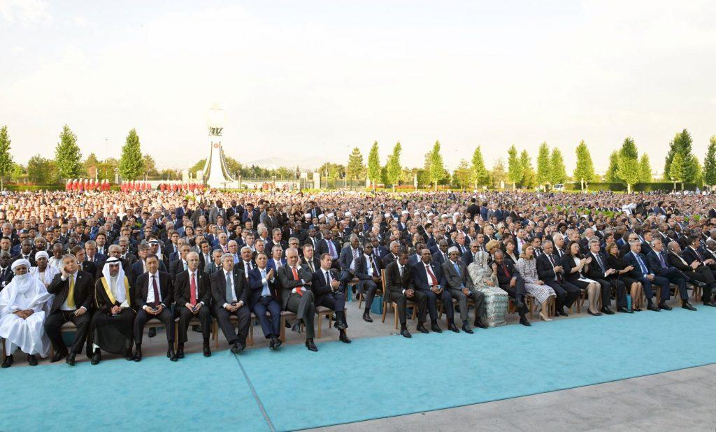Orbán bei Erdoğans Angelobung in Ankara post's picture