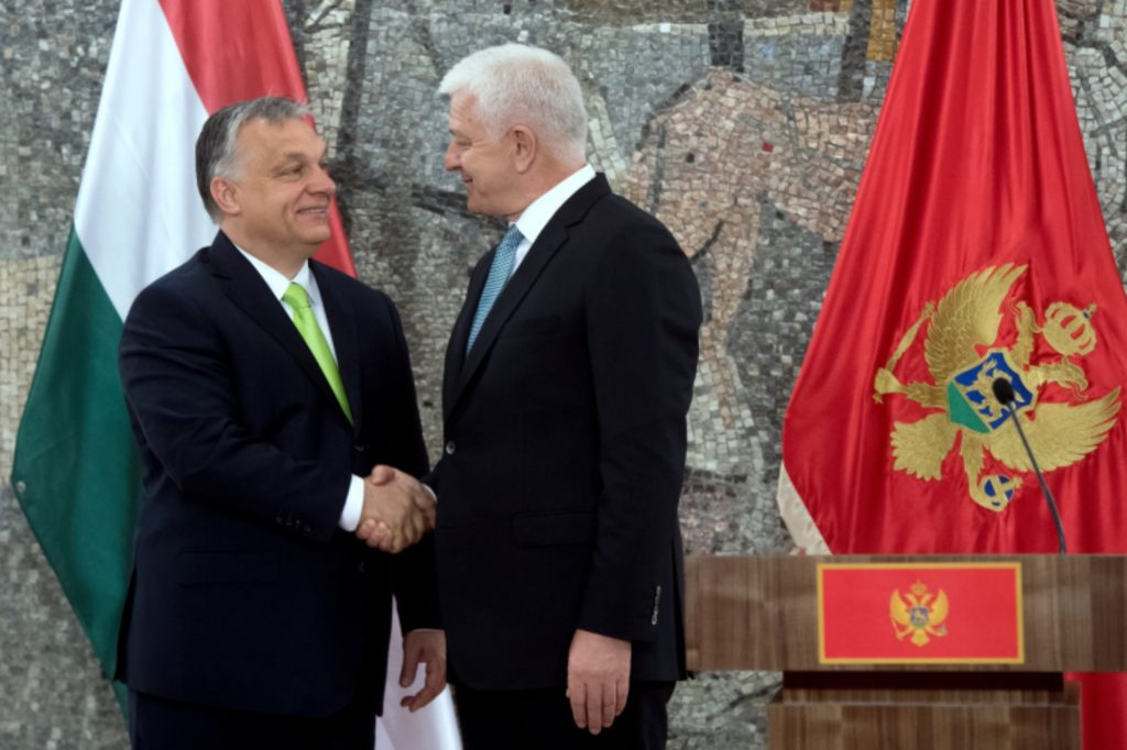 """Orbán in Montenegro: """"Neue Balkanroute für Flüchtlinge muss gesperrt bleiben"""""""