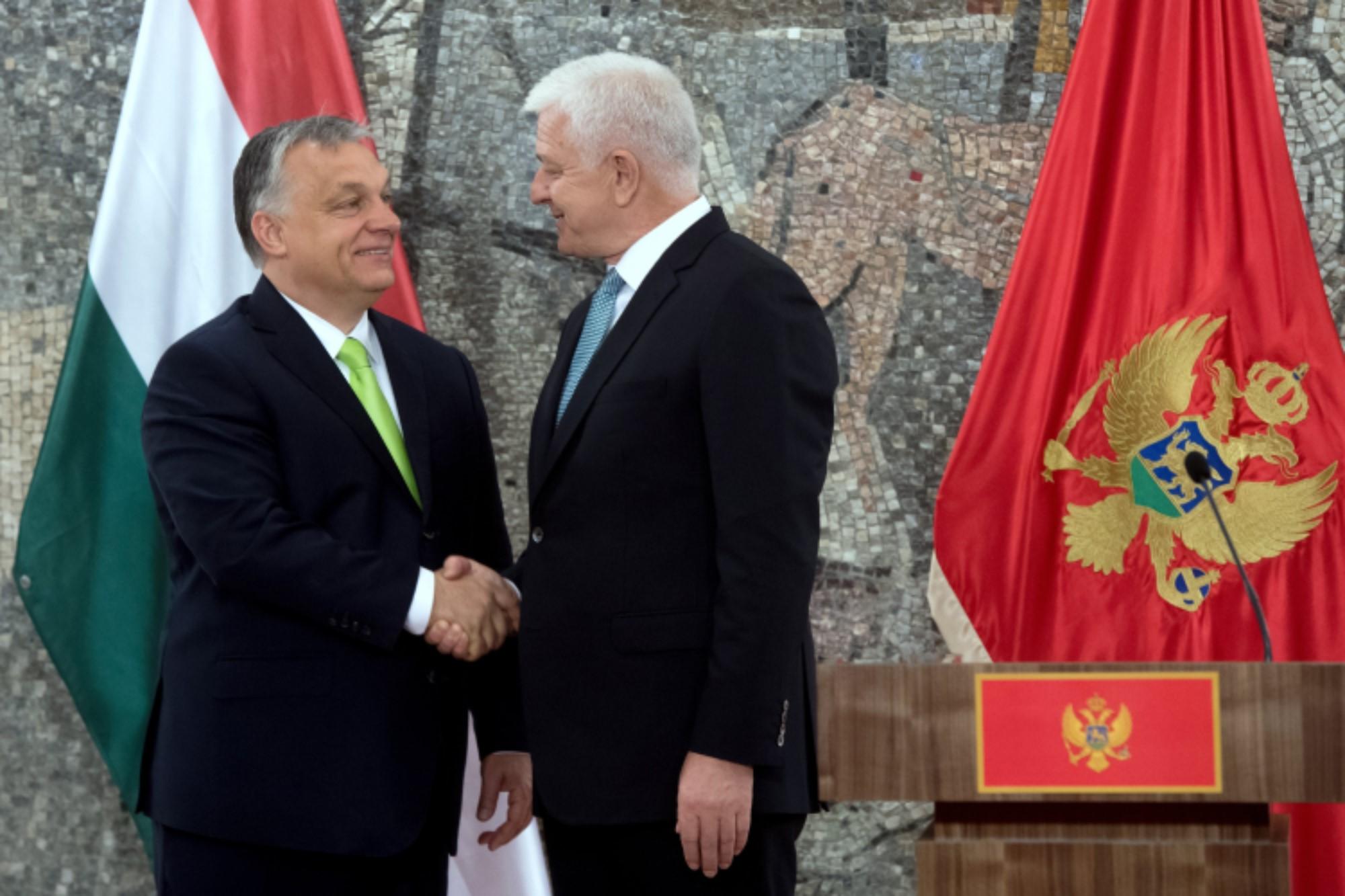 """Orbán in Montenegro: """"Neue Balkanroute für Flüchtlinge muss gesperrt bleiben"""" post's picture"""