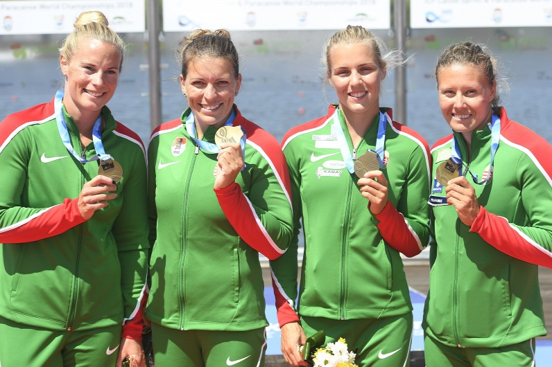 Kanu-WM: Ungarn das Zweitbeste und gewinnt eine Goldmedaille auch für Deutschland