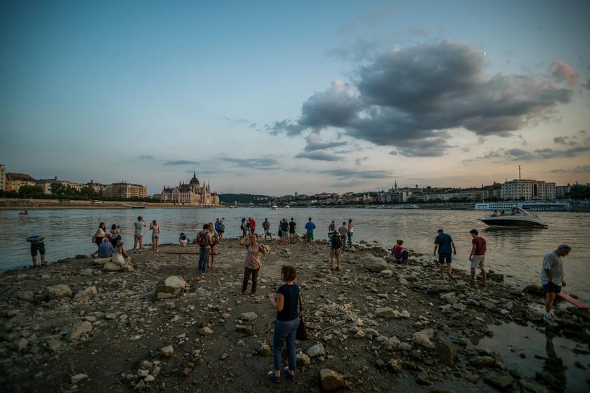 Donau: Rekordniedrige Wasserstände post's picture