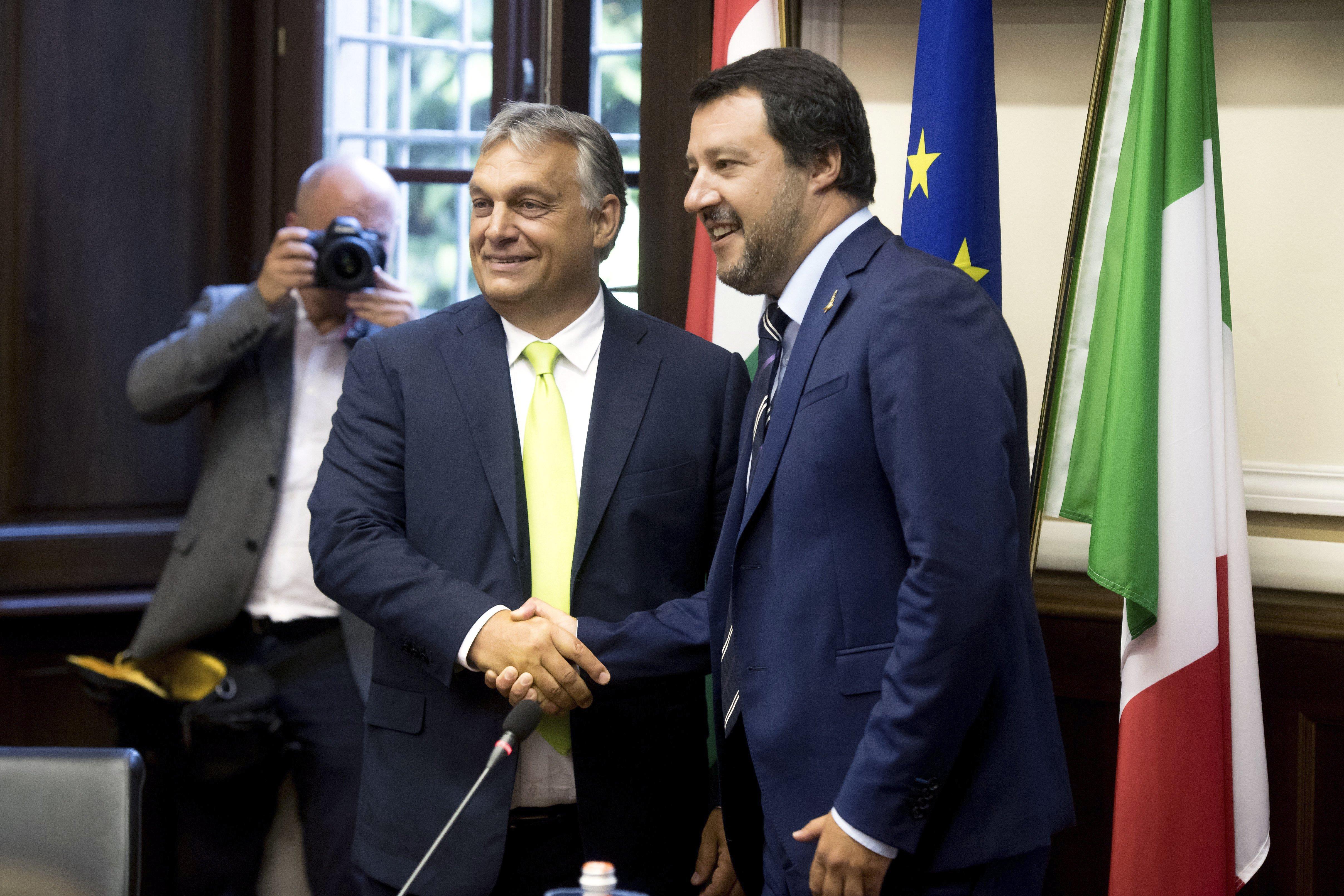 """Orbán: Salvini ist unser """"Mitkämpfer"""" post's picture"""