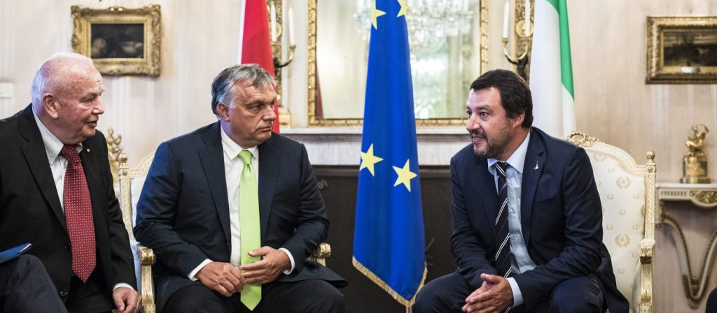 "Orbán: ""Salvini ist mein Held"" post's picture"