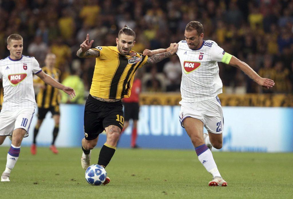 Nach einer heroischen Schlacht in Athen geht MOL Vidi in der UEFA – Europa League weiter post's picture