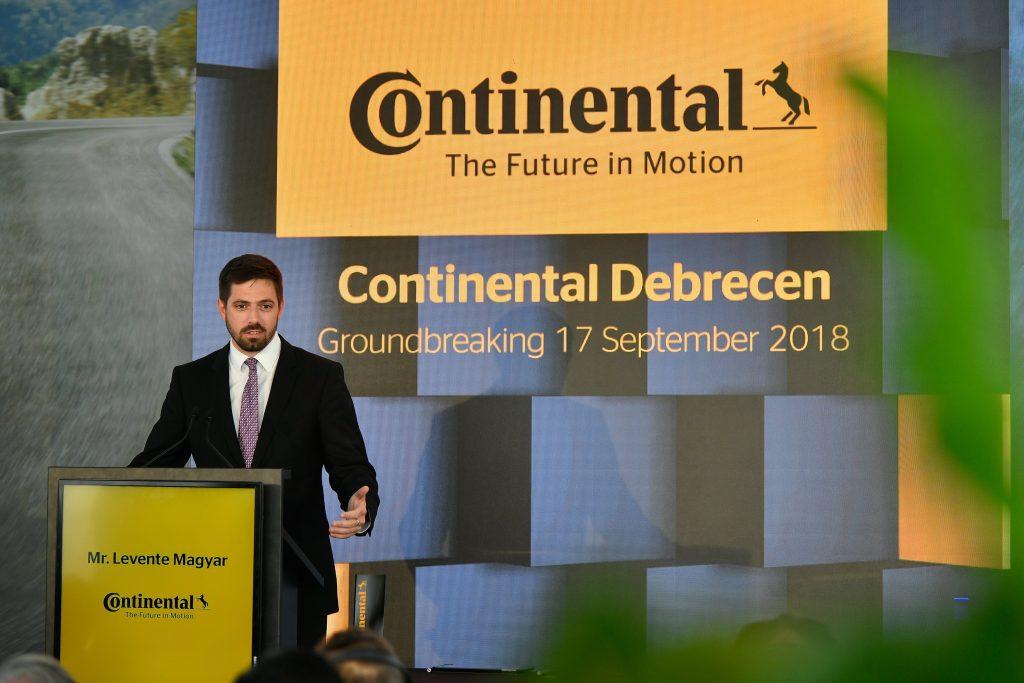Siebtes Continental-Werk in Ungarn
