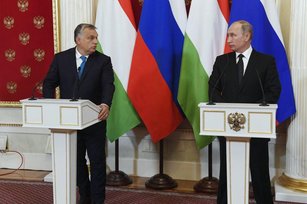 Putin kommt im Oktober wieder nach Ungarn post's picture