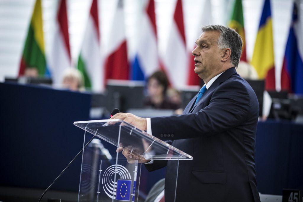 """Orbán im EU-Parlament: """"Ungarn lässt sich nicht erpressen"""" post's picture"""