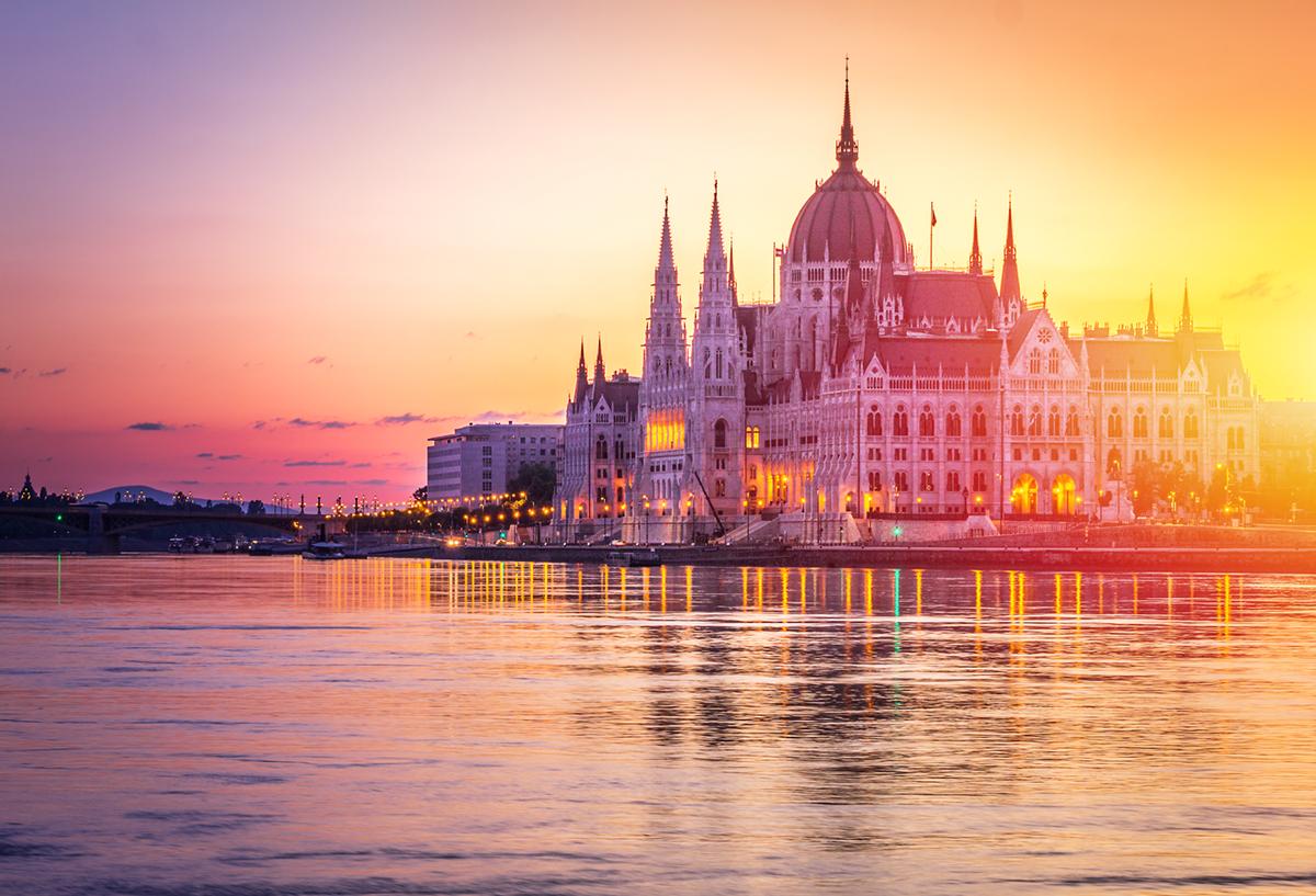 Das Wahrzeichen Budapests: Das Parlamentsgebäude post's picture