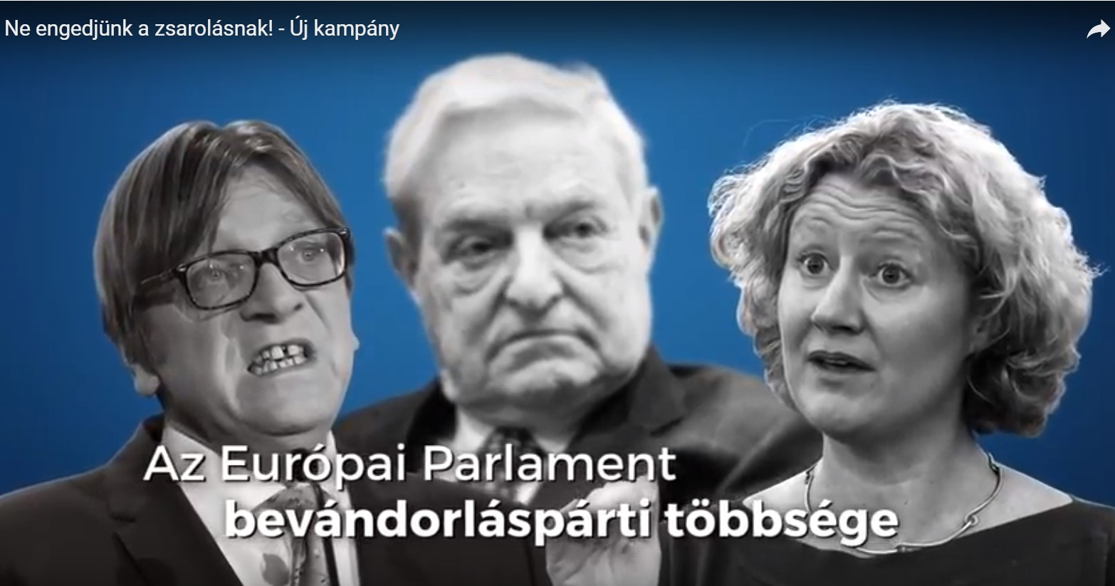 """Regierungsvideo: """"Geben wir der Erpressung nicht nach!"""" post's picture"""