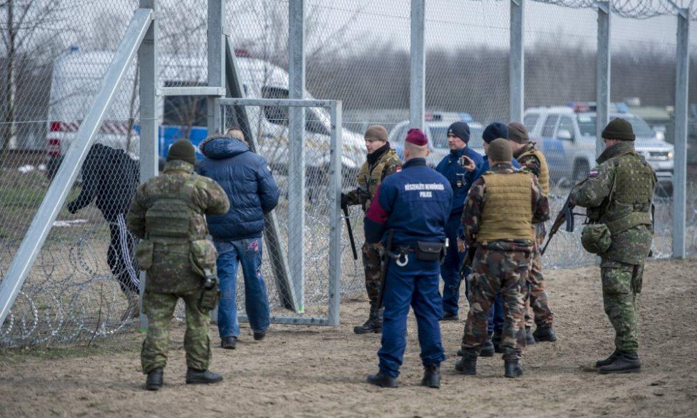 Ungarische Grenzpolizei hilft in Mazedonien und Serbien post's picture