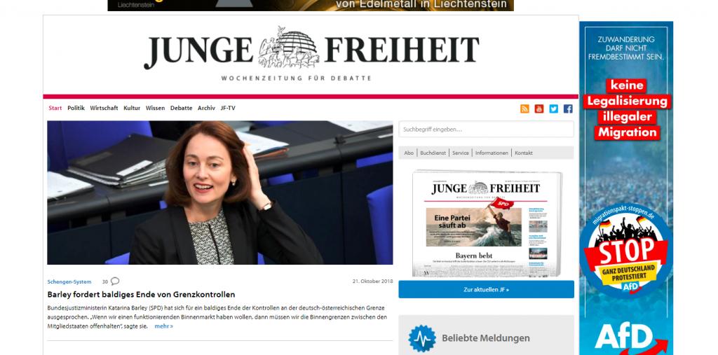 """AfD kopiert """"STOP-Migranten"""" Kampagne vom Fidesz post's picture"""