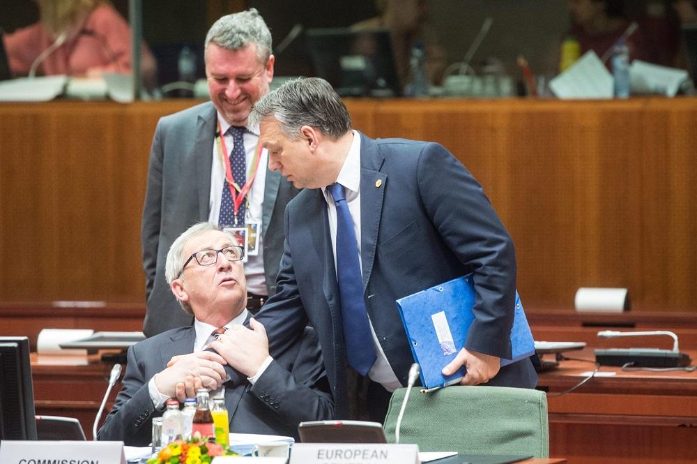 """Juncker: """"Herr Orbán hat keinen Platz mehr in der EVP"""" post's picture"""