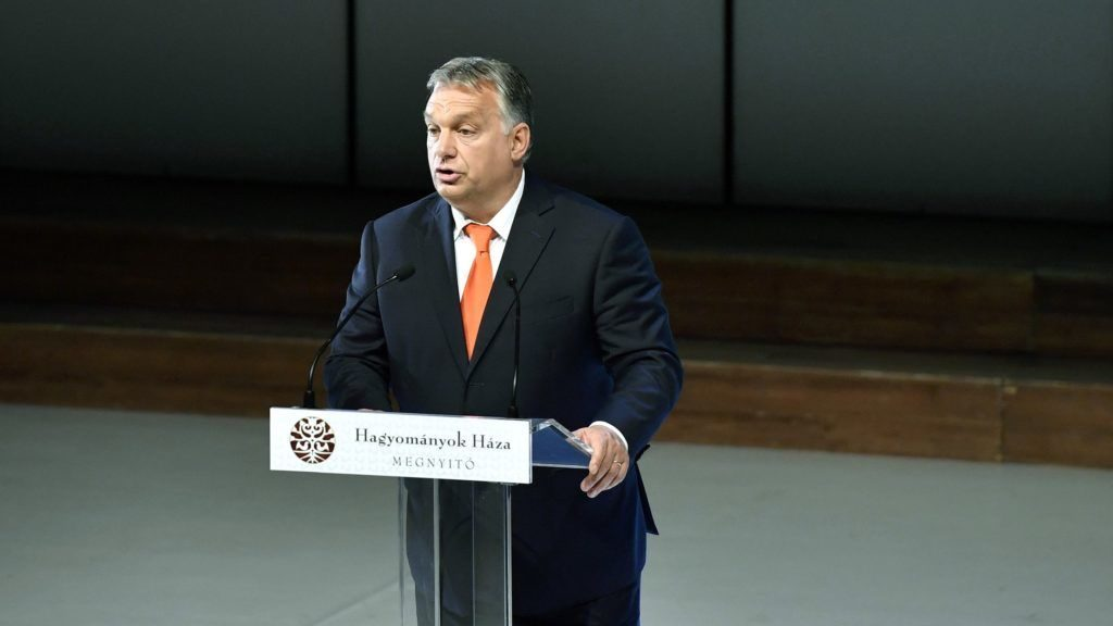Orbán: Es gibt in Europa und nicht in Ungarn einen Kulturkampf