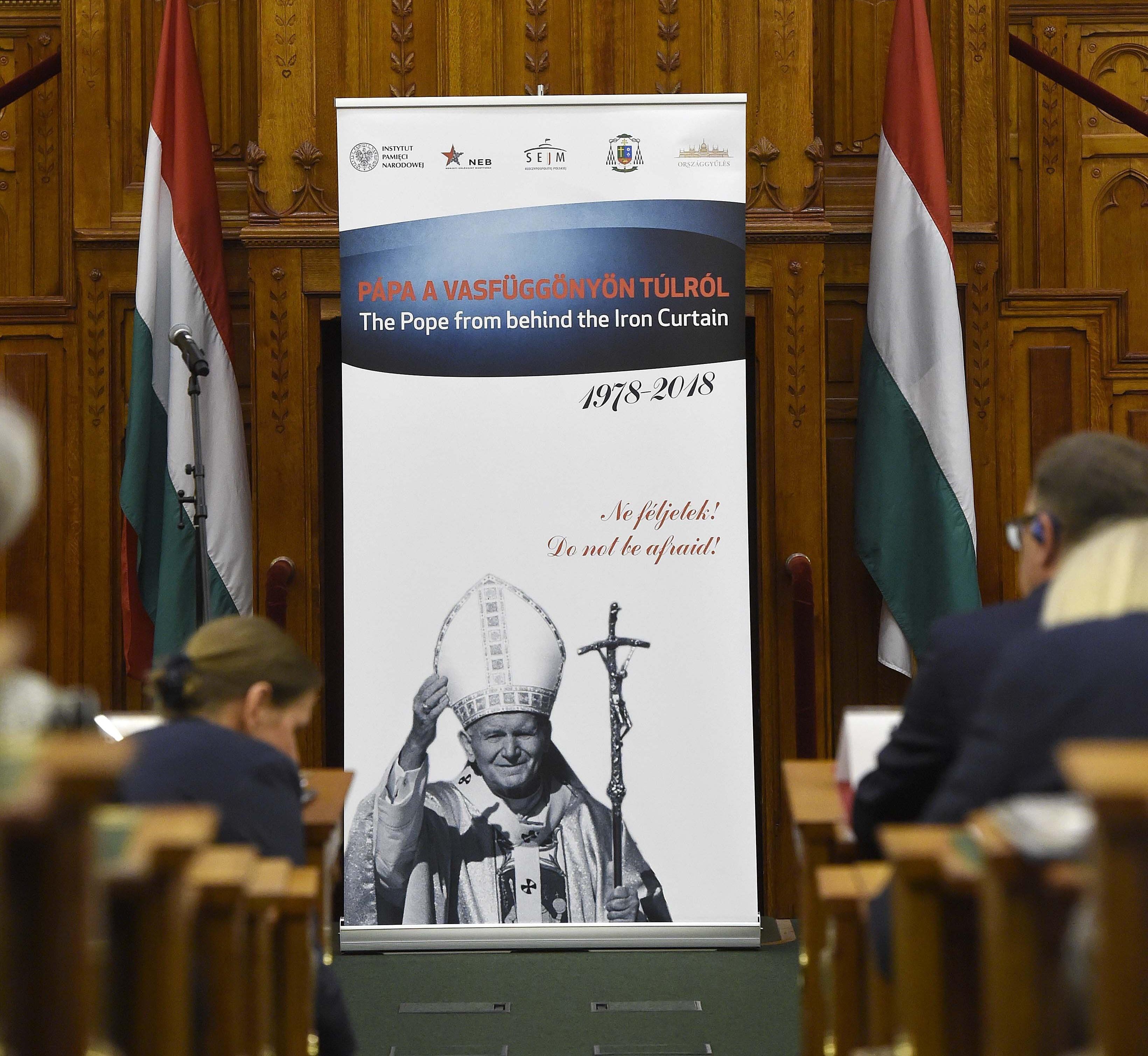 Semjén: Papst Johannes Paul II. war ein entschlossener Kämpfer für Menschenrechte post's picture