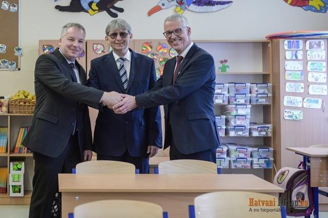 Bosch Schule in Hatvan: 21 Erstklässler beginnen das neue Schuljahr