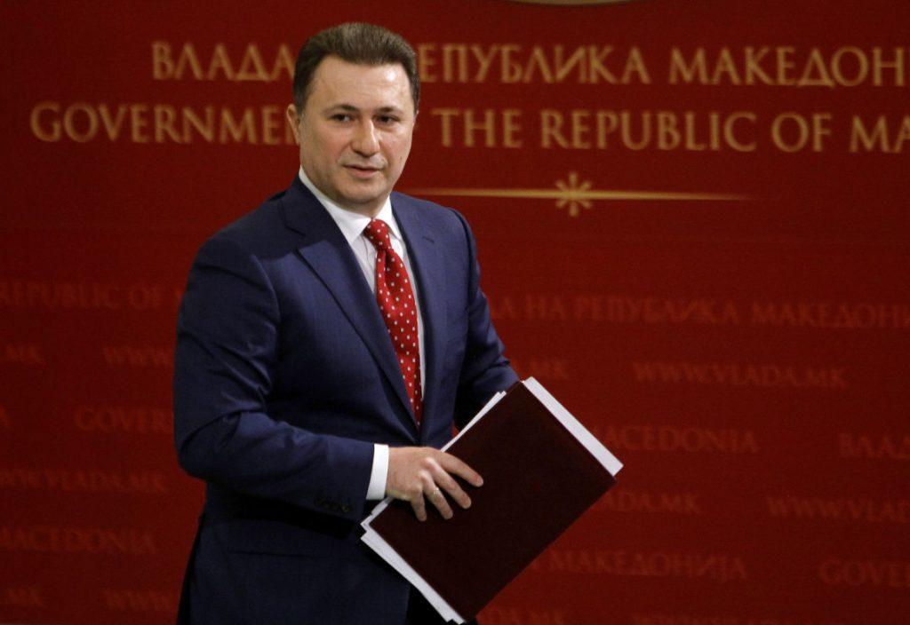 Magyar Idők: Gruevski erhielt den Flüchtlingsstatus post's picture