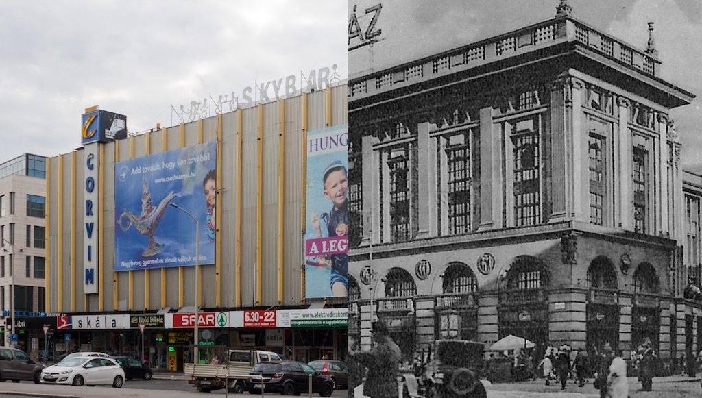 """Atemberaubende Geschichte des Luxus-Warenhauses """"Corvin Budapest"""" verbunden mit der Geschichte einer Familie"""