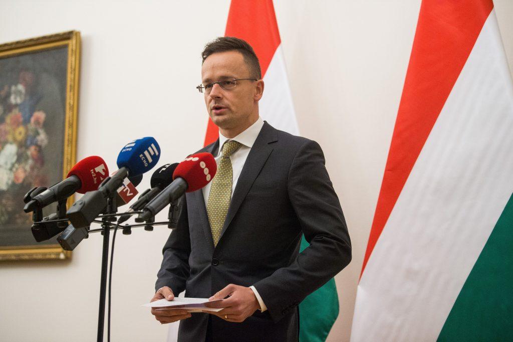Szijjártó: Ungarn steht für die territoriale Integrität und Souveränität der Ukraine post's picture