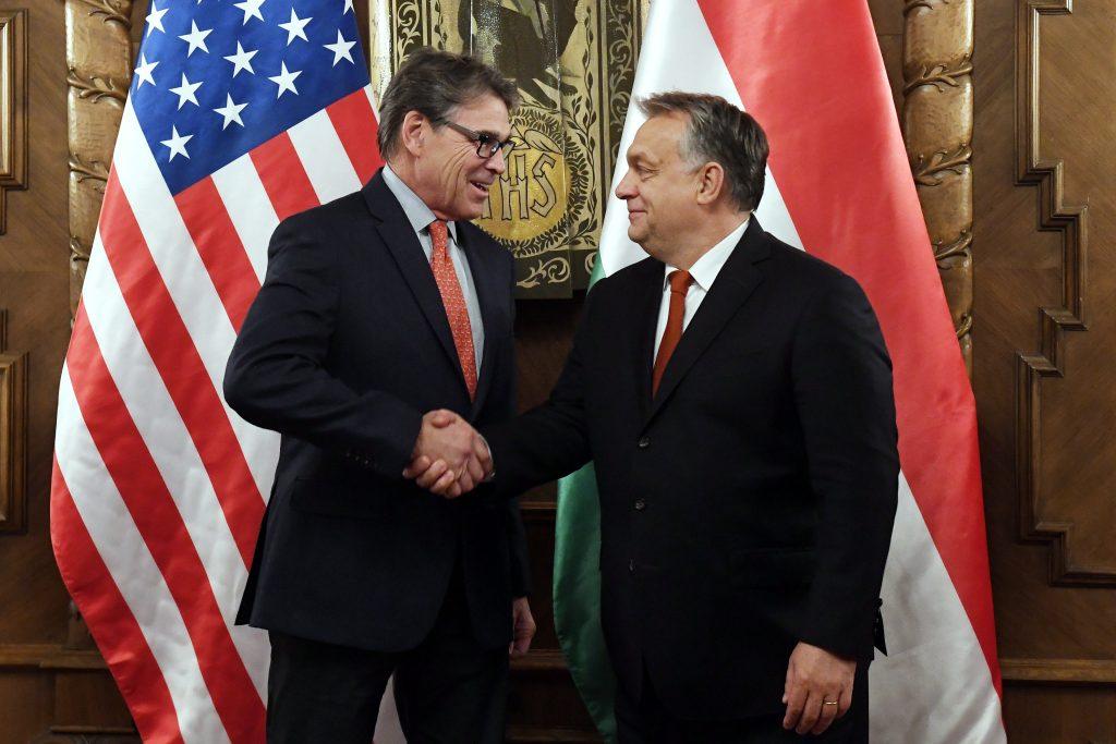 """Orbán: Ungarn-US-Beziehungen sind """"ausgezeichnet"""""""