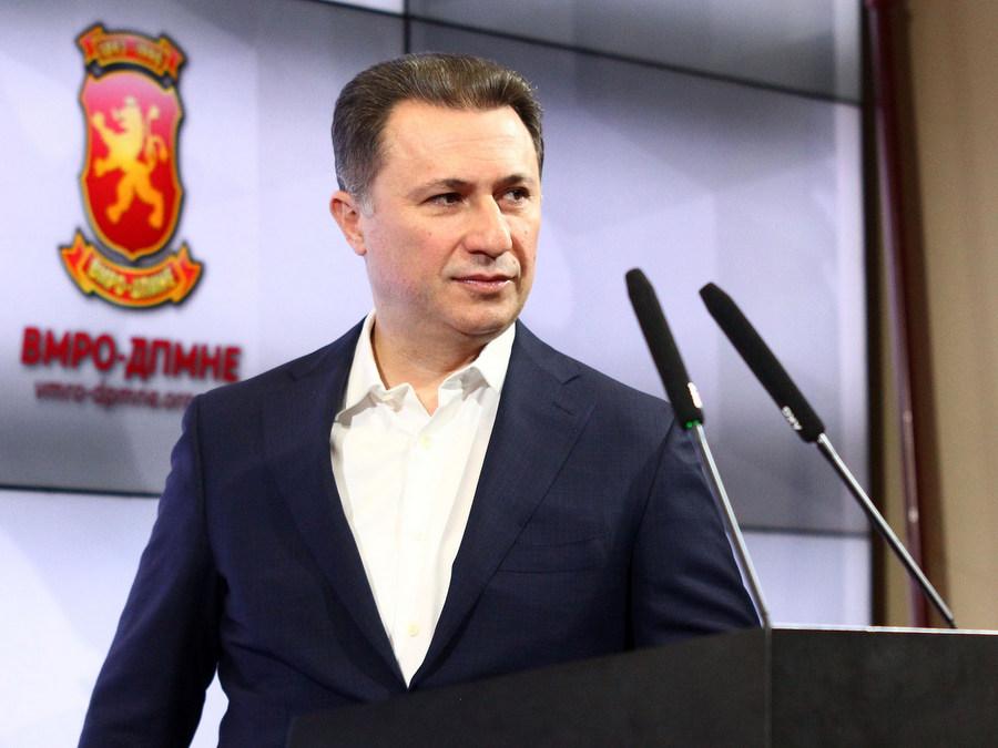 Ehemaliger mazedonischer Premierminister sucht politisches Asyl in Ungarn post's picture
