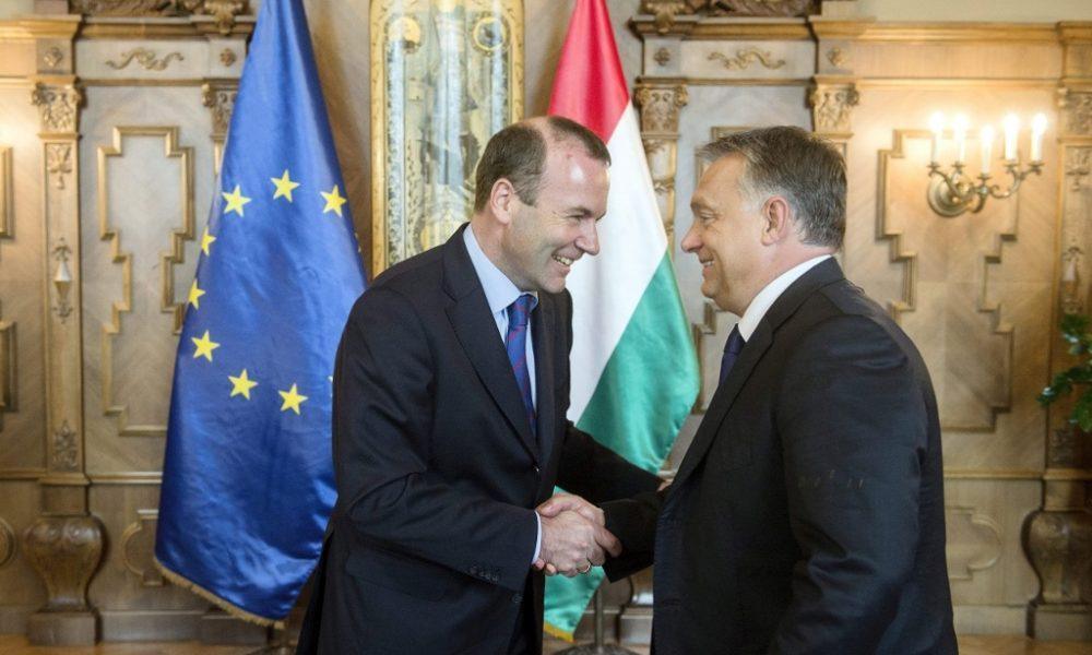 Viktor Orbán kommt in Helsinki zum EVP-Kongress an post's picture