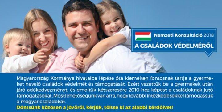 """Ungarische Regierung startet """"Nationale Konsultation"""" über Familienbeihilfen post's picture"""