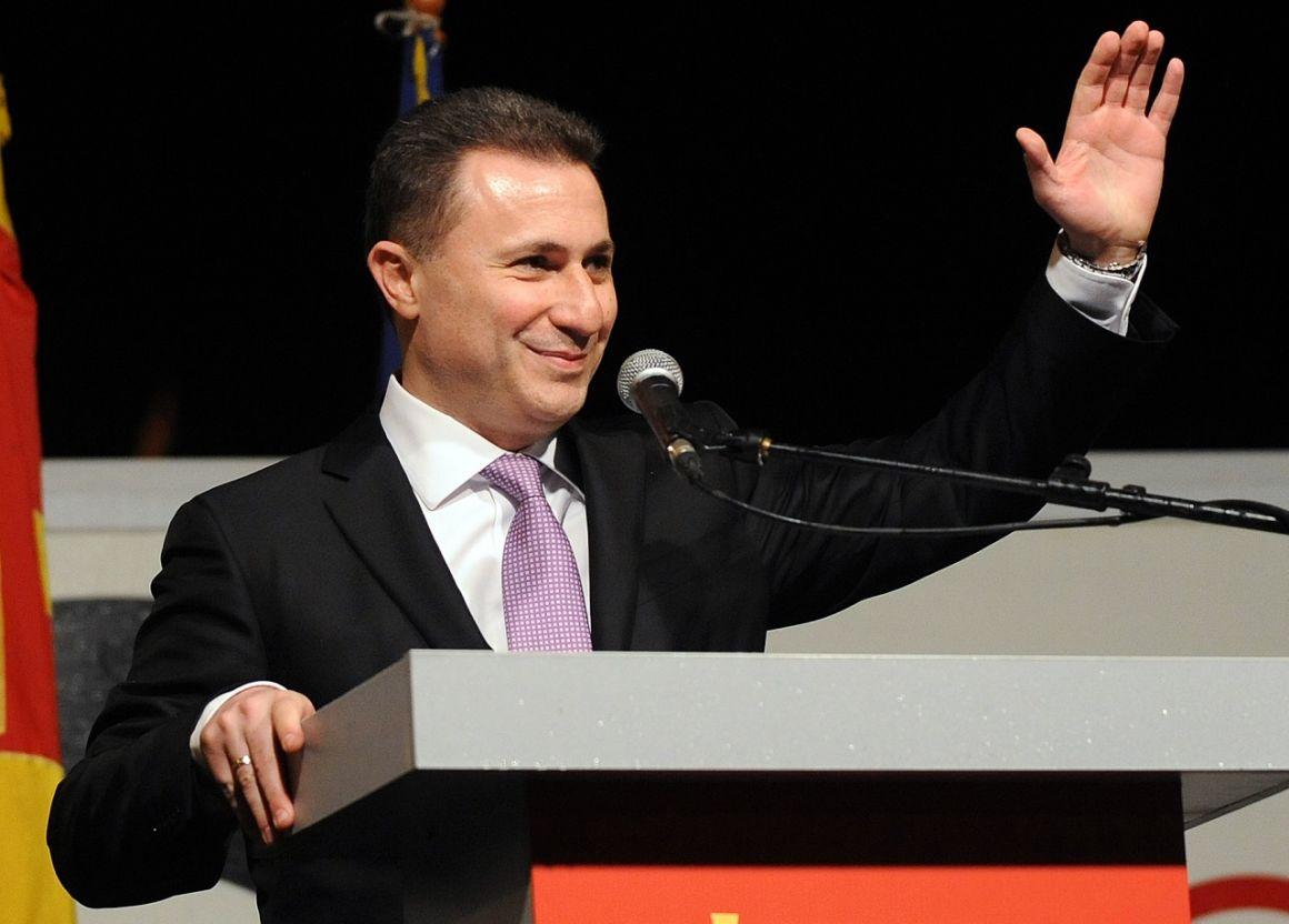 Umstrittener Asylantrag des ehemaligen mazedonischen Premierministers post's picture
