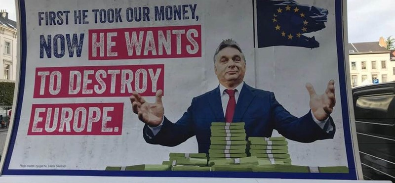 Mobil-Plakat-Kampagne von Guy Verhofstadt startet gegen Orbán post's picture
