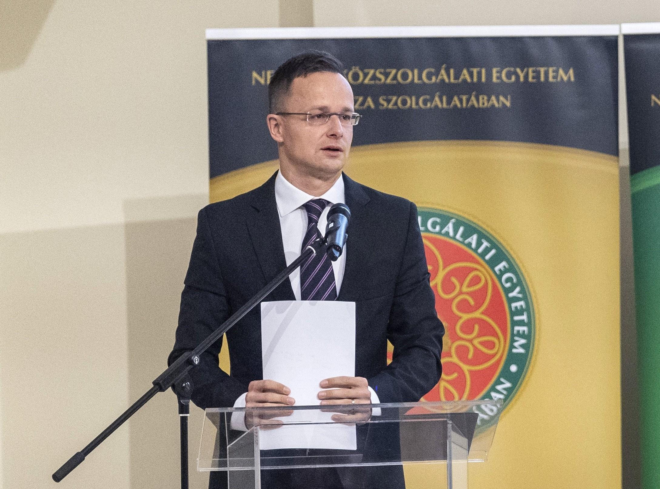 """Szijjártó: Ungarn lehnt die Idee der """"Vereinigten Staaten von Europa"""" ab post's picture"""