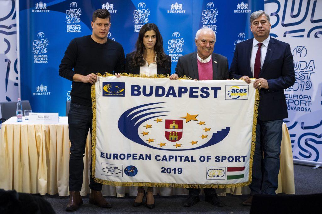 Budapest wird Europas Sporthauptstadt 2019
