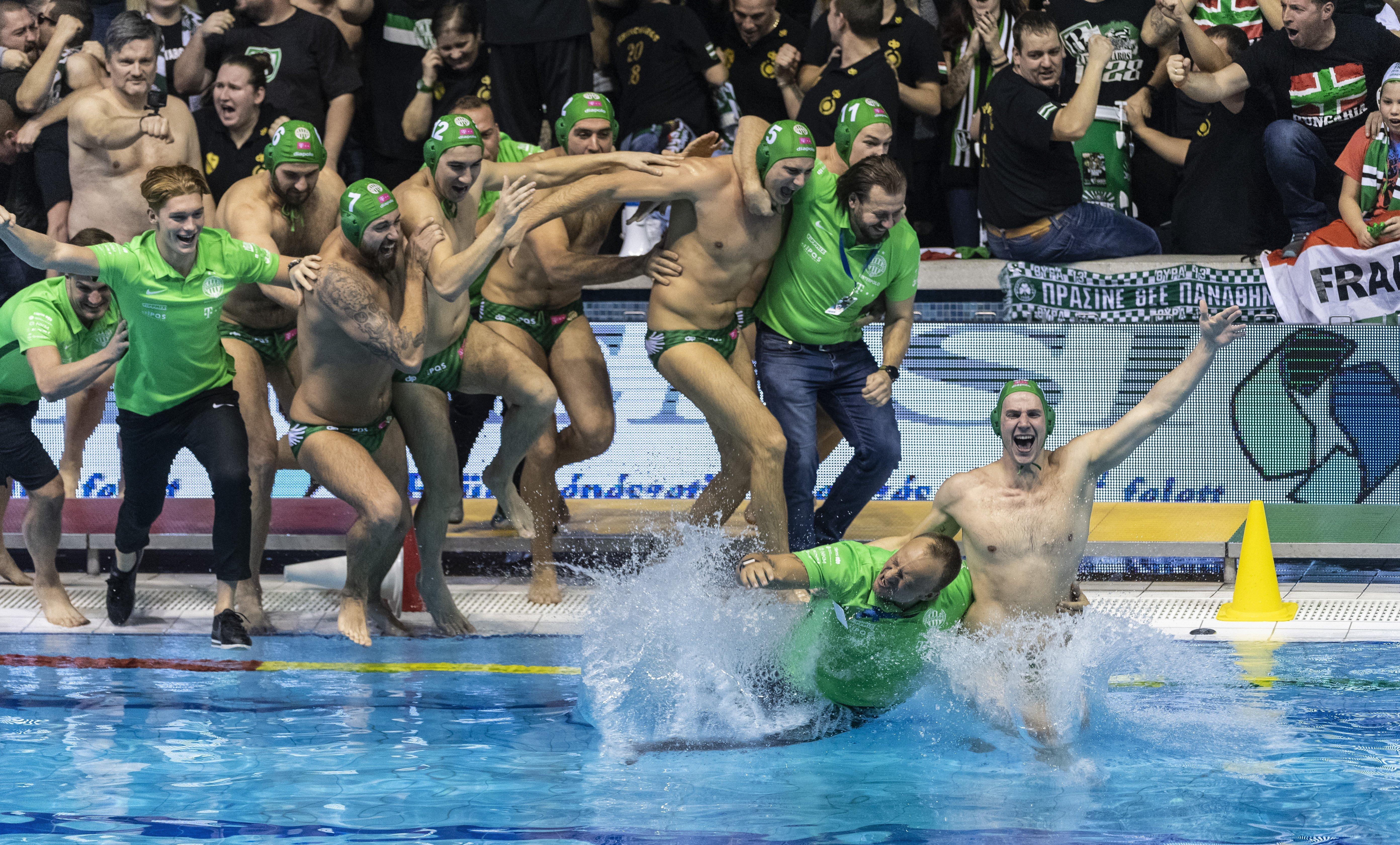 Wasserball: Ferencváros gewinnt den LEN-Super-Cup post's picture