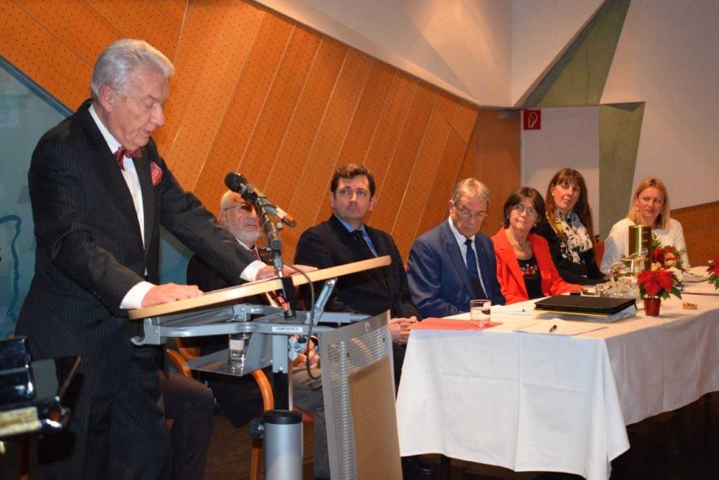 CLUB PANNONIA: Generalversammlung mit Neuwahl des Präsidenten