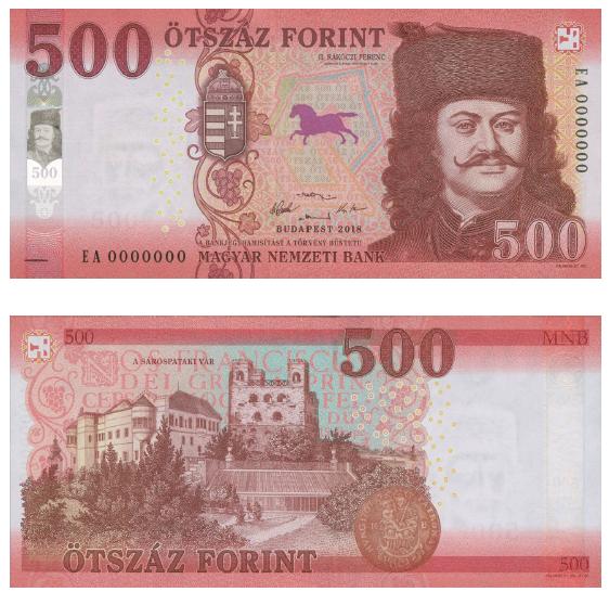 Der neue 500 Forint-Schein kommt bald post's picture