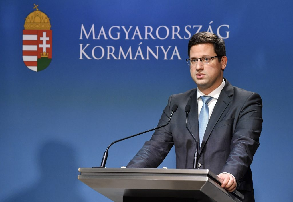 Minister Gulyás: Finkelstein war kein Kampagnenberater der Regierung(sparteien)
