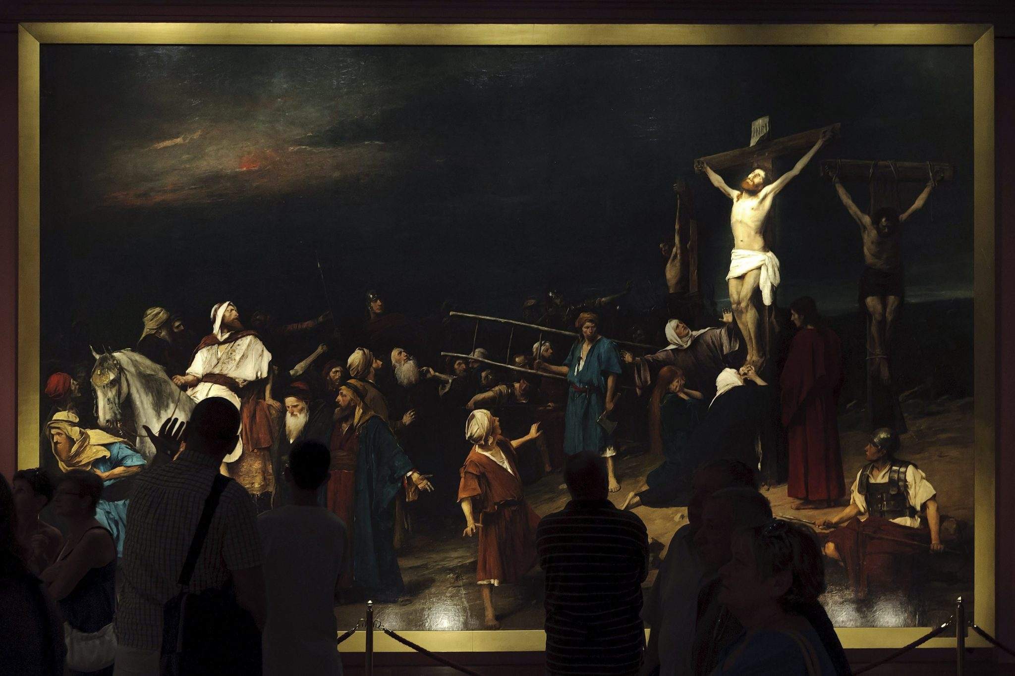 "Ungarn kauft Munkácsys berühmtes Gemälde, das ""Golgota"" post's picture"