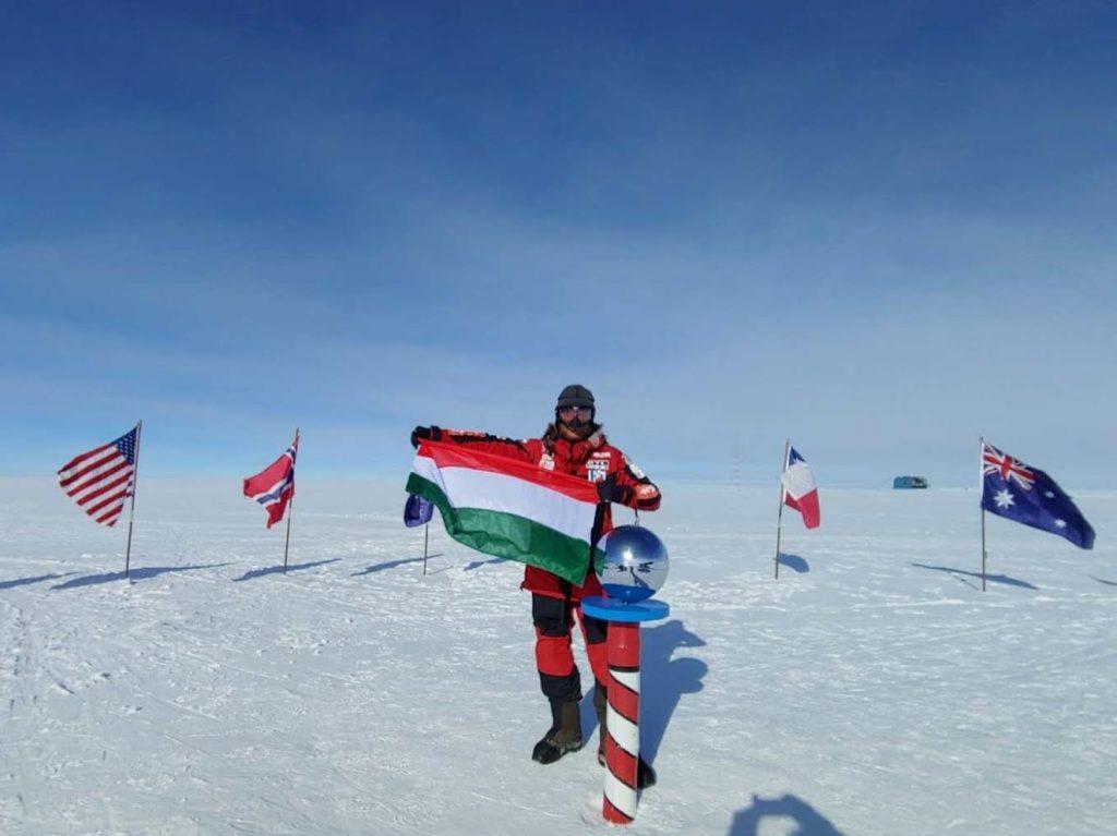 Der erste Ungar, der den Südpol erreicht hat
