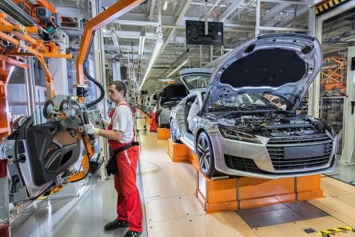 Audi stellt Produktion in Győr ein