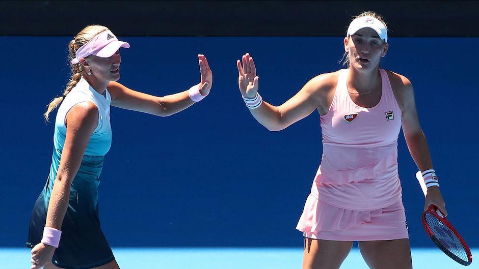 Australian Open: Babos im Doppel-Finale post's picture