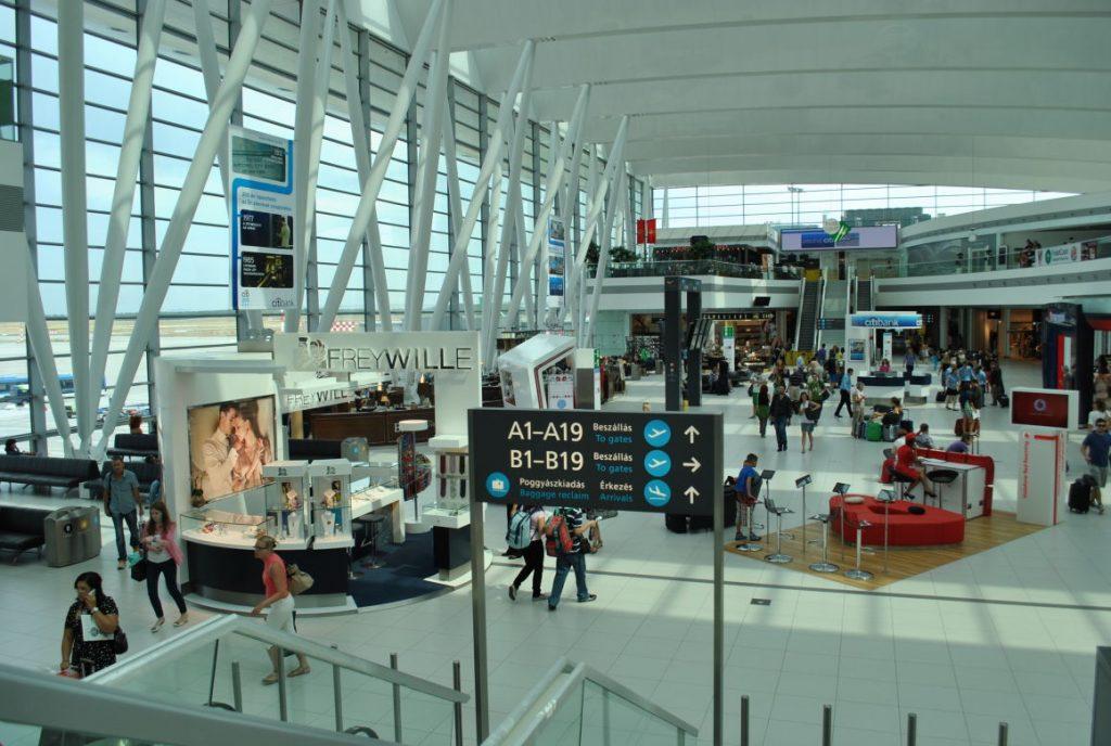 Passagierrekord auf Budapester Flughafen post's picture