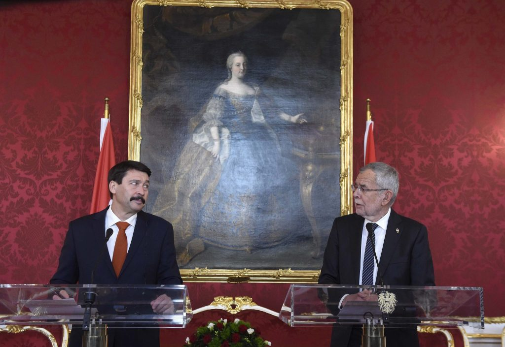 Präsident Áder lobt Wirtschaftsbeziehungen zwischen Ungarn und Österreich post's picture