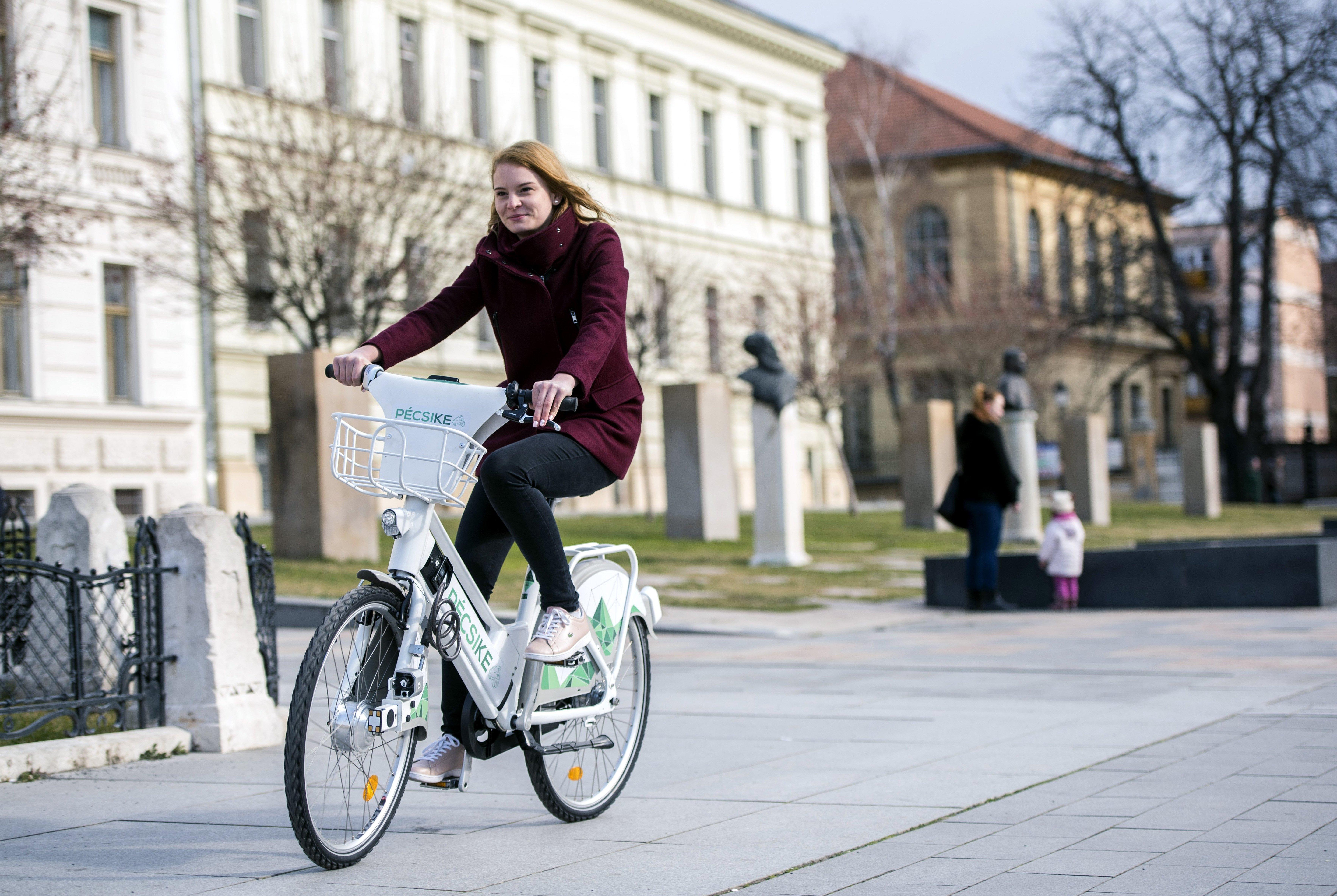 Gemeinschaftliches Fahrradsystem startet in Pécs! post's picture
