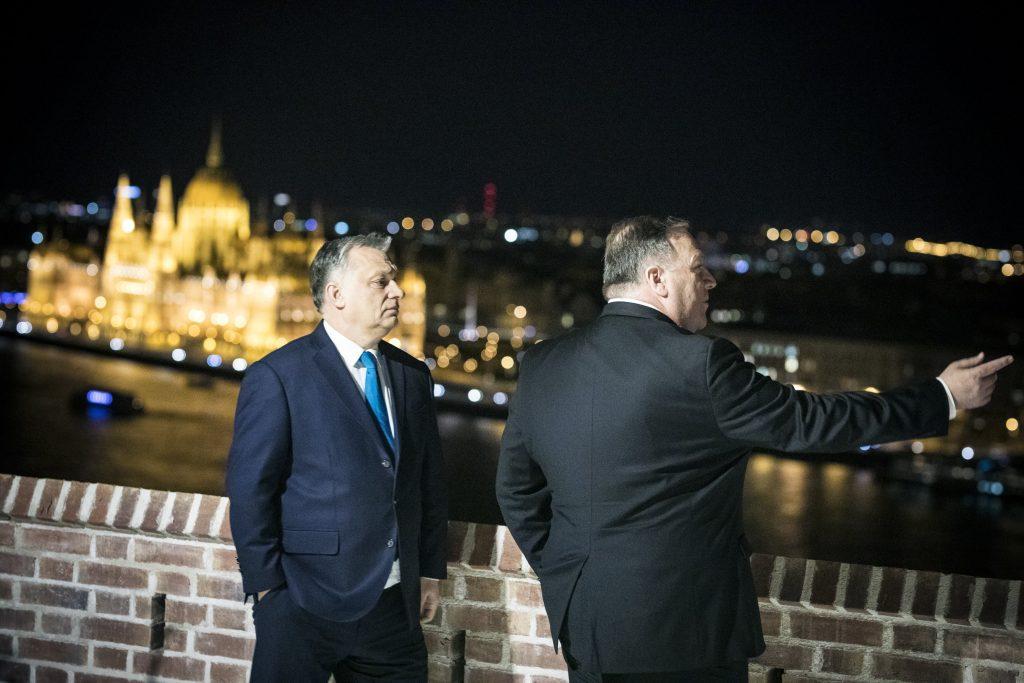 Pompeo: USA will die Beziehungen zu Ungarn vertiefen