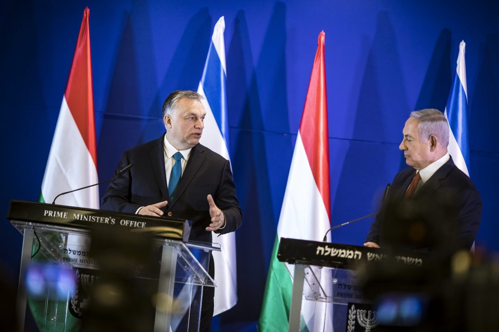 Orbán in Israel: Ziel ist es, Antisemitismus in Europa einzudämmen