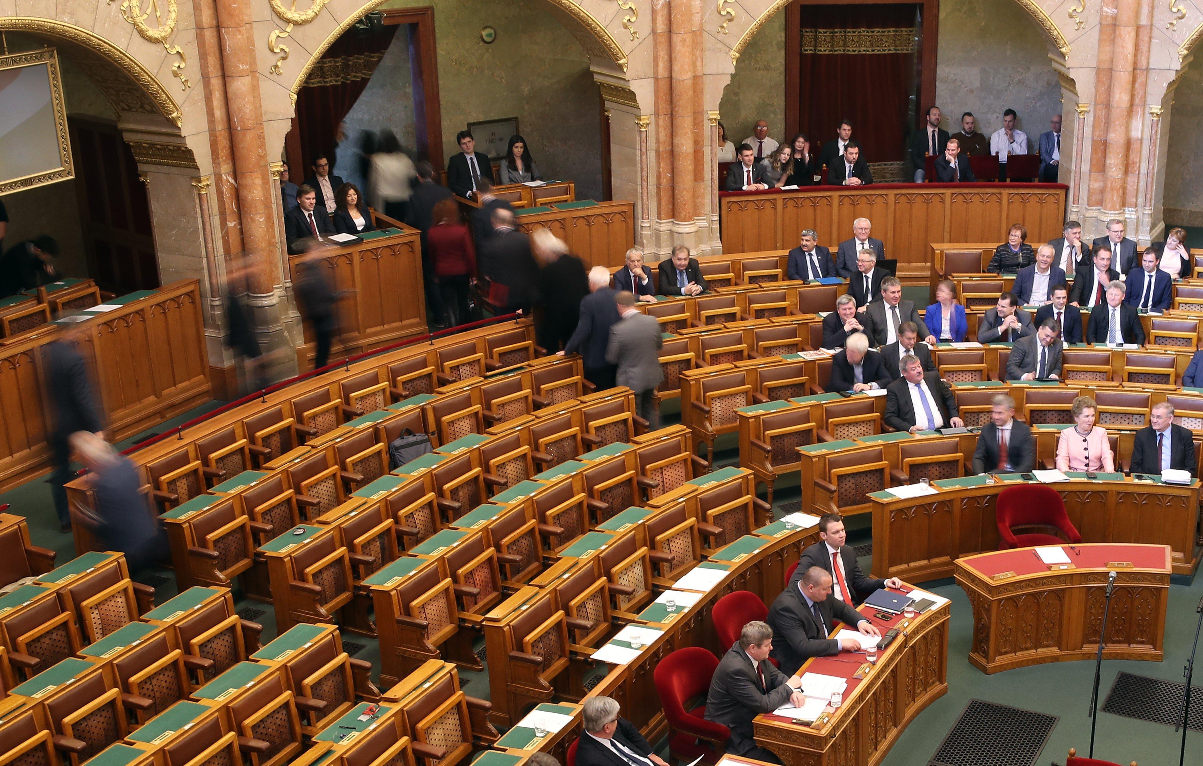 Ungarische Opposition verlässt Parlamentssitzung post's picture