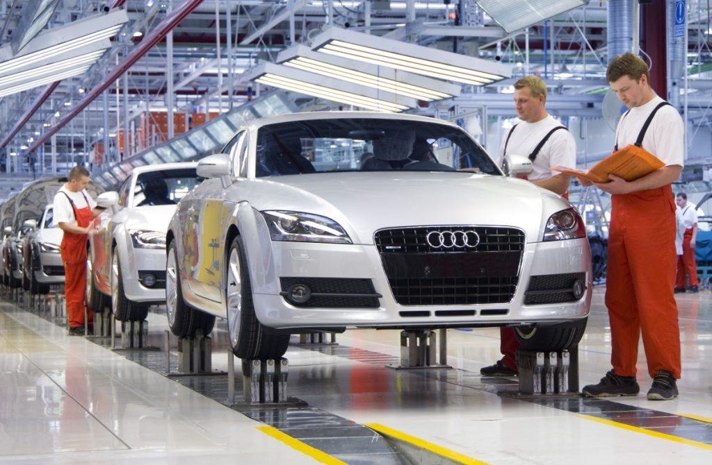 10.000 Autos im Audi-Werk wegen Streik nicht produziert post's picture